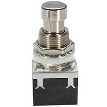 Popular 10 Pcs 9-pin 3PDT Guitar effects Self-locking Button switch