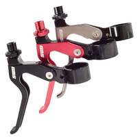 Ultralight Foldable Bicycle Brake Handle Aluminum 7075 CNC Folding Bike V Brake Lever Bicycle Brake Accessories