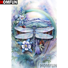 HOMFUN Full Square/Round Drill 5D DIY Diamond Painting Flower garden Embroidery Cross Stitch 5D Home Decor Gift A14417 homfun full square round drill 5d diy diamond painting garden