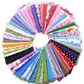 Nanchunag Random Color Cotton Fabric Printed Patchwork Bundle For Sewing Fat Scrapbooking Pattern 10x10cm 30Pieces/Lot