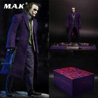 Для коллекции 1/6 масштаб полный клоун Джокер посаженные волосы в коробке набор фигурку с коробкой модель для поклонников коллекционные под
