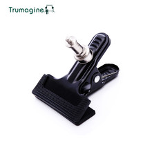 "TRUMAGINE Photograph Studio Equipment Heavy Responsibility Steel Clamp 1/four"" Screw  Setting For Digicam DSLR Flash Mild Stand"