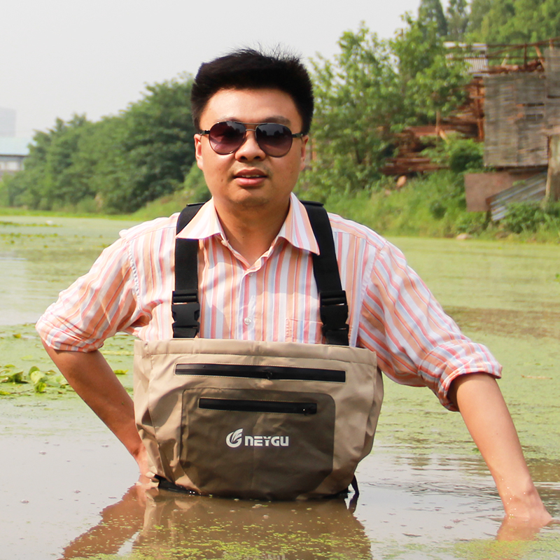 Waterproof pesca wader, stocking foot chest waders for hunting, fishing and rafting wading shoes fst3125 fst3125mx sop