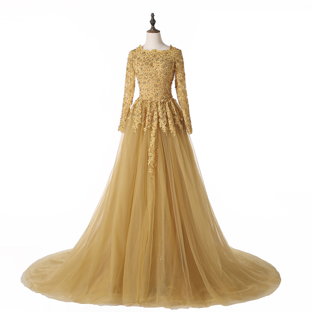Gold Gowns Wedding: Aliexpress.com : Buy 2016 New Vintage Lace Gold Wedding