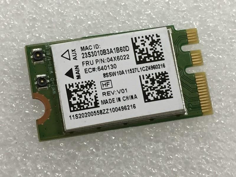 SSEA Novo Cartão Sem Fio Wi-fi Bluetooth4.0 para Atheros QCNFA335 NGFF Cartão Sem Fio para Lenovo G40-30 45 70 B50 V1000 FRU: 04X6022