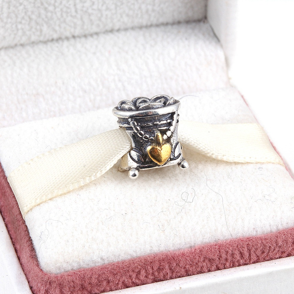 Jewelry Box For Pandora Charms: ZMZY Original 925 Sterling Silver Charms Jewelry Box
