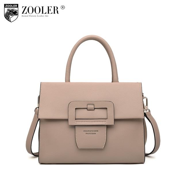 2018 New Stylish Woman Leather Handbag Shoulder Messenger Bag Lady Clasp Closure Top Handle Bolsa