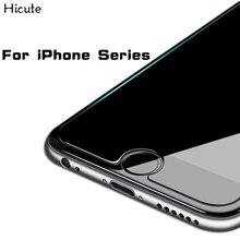9H 2.5D HD 강화 유리 아이폰 6 6s 플러스 7 7 플러스 5s se 8 8 플러스 x 유리 아이폰 7 8 x 화면 보호기 아이폰 7 8 X 유리