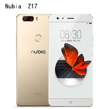 Новый ZTE Нубия Z17 без полей 6 ГБ/8 ГБ Оперативная память 64 ГБ/128 ГБ Встроенная память сотовый телефон Android 7.1 Snapdragon 835 Octa Core 5.5 «Dual SIM 23.0MP