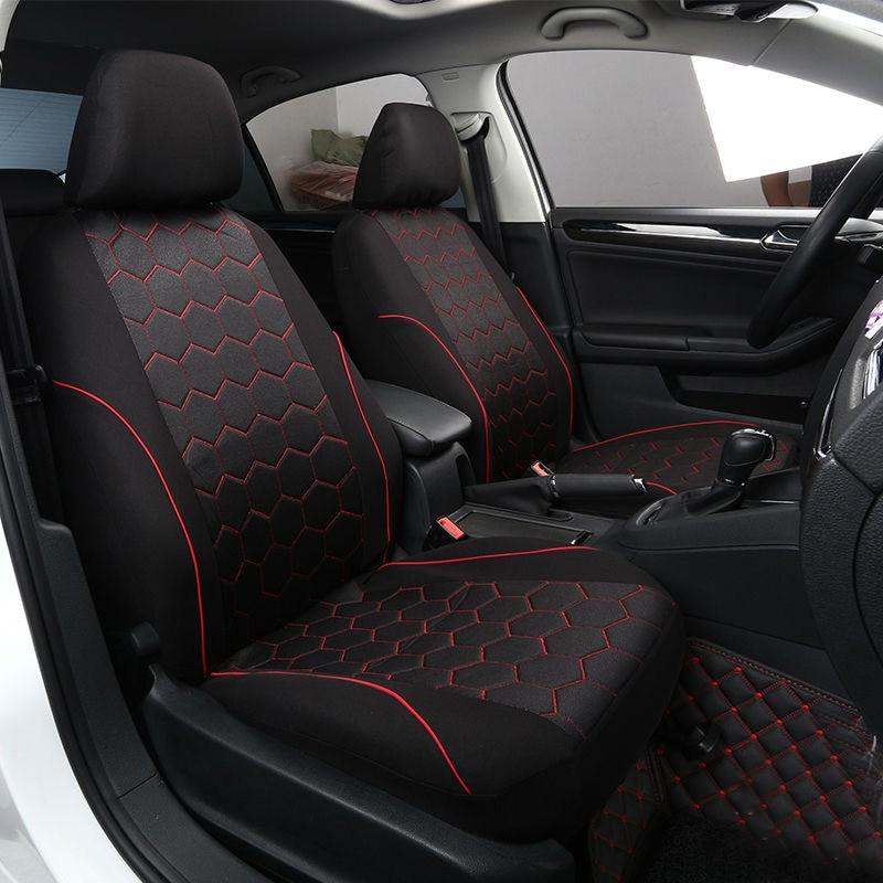PREMIUM BLACK SEAT COVERS WHITE PIPING 1-1 L ASTRA VAN 06+