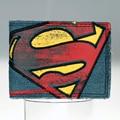 Superman - Vintage Logo Canvas / Jeans Wallet - Billfold DFT-1120