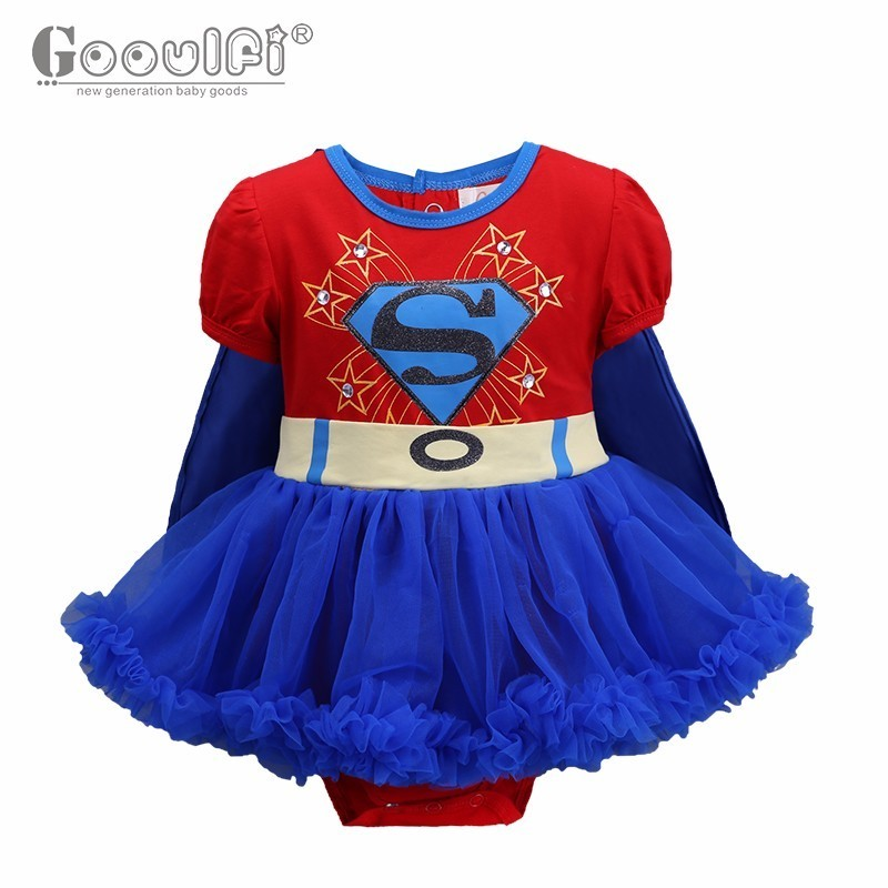 Gooulfi Baby rompers Halloween Costume for new born Baby Girl clothing Short Sleeve 0-3months Baby Onesie Funny Romper 2017 short form for months