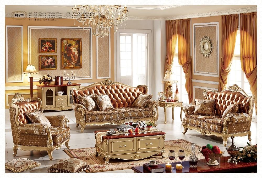 Stile francese divano del soggiorno mobili 187 con del ...