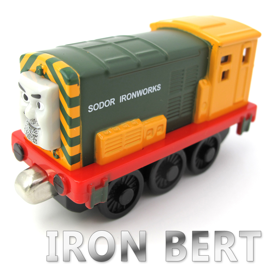 Diecasts Vehicles Thomas T073D IRON BERT Thomas And Friends Magnetic Tomas Truck Locomotive Engine Railway Train Toys for Boys