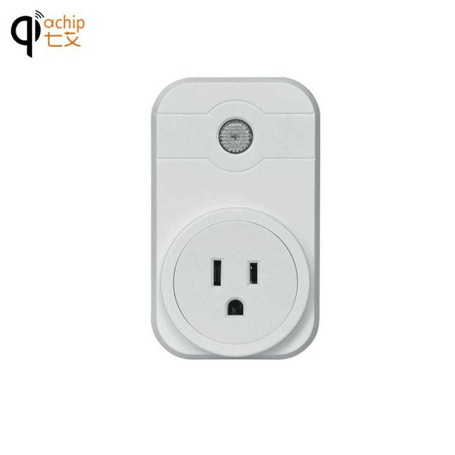 US $18 0  S1 WiFi Smart Socket App Control US EU UK Support Google Home  Alexa Voice Timer Function for Smartphone Tablet AC 100 240V-in Switches  from