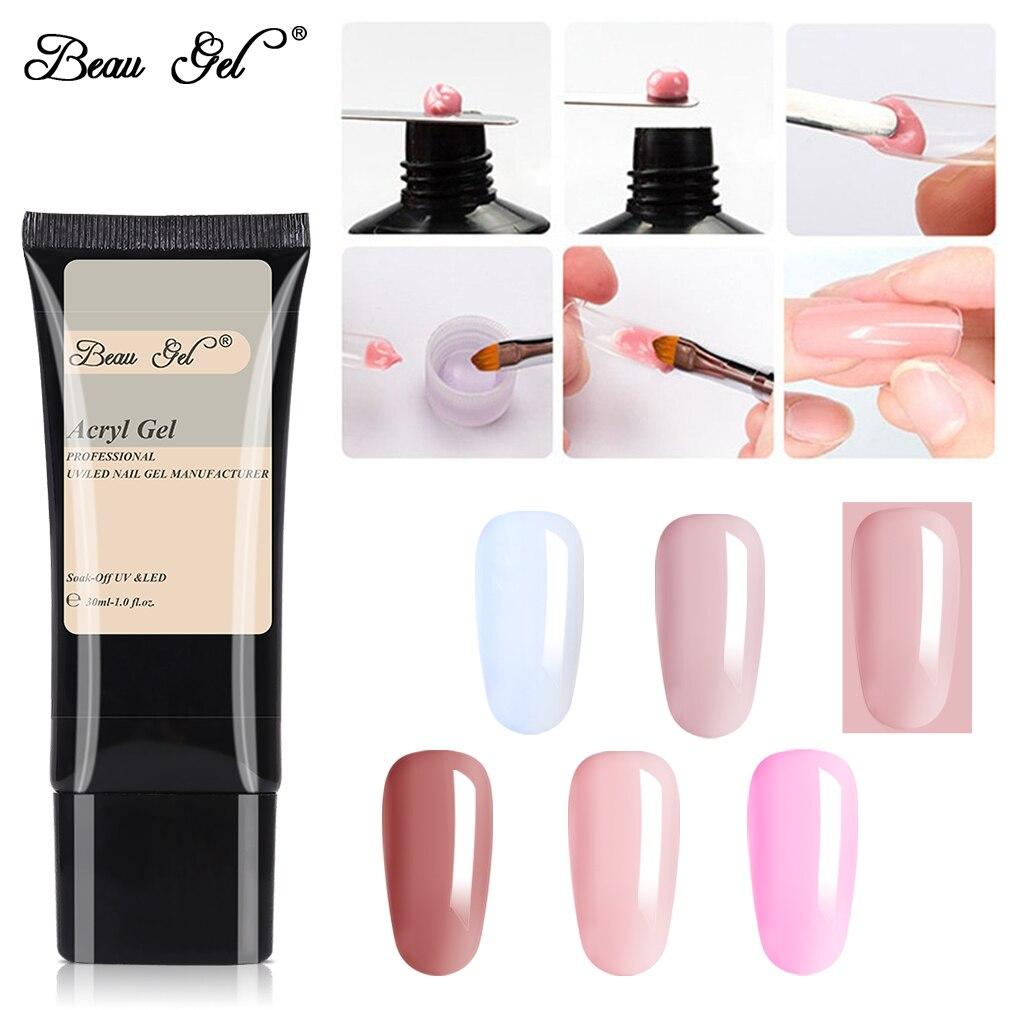Beau Gel 7ml UV Nail Gel Polish Soak Off UV LED Gel Lacquer