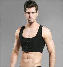 Abnehmen body shaper brust binder büste former trainer gürtel gynecomastia modellierung gurt korsett compression weste shapewear