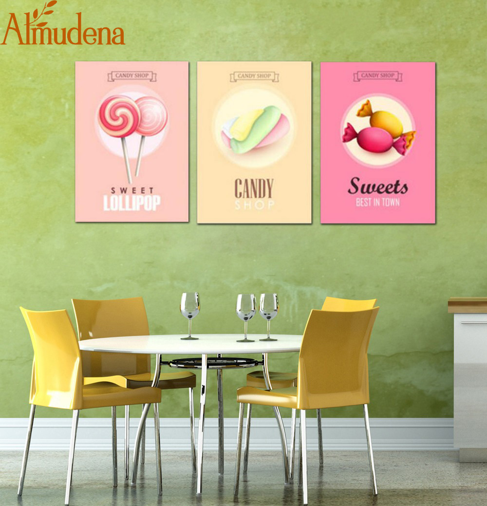 ALMUDENA Restaurant and Kitchen Wall Art Decorative Painting Kinds ...
