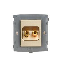 Электрический аудио модуль с двумя отверстиями chint new2k светильник