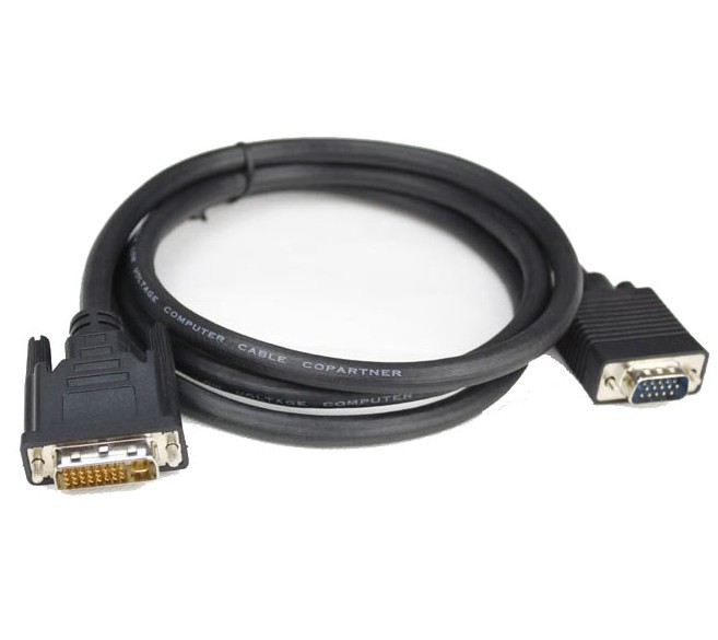 3M DVI male to VGA male cable, DVI 24 +5 to VGA cable DVI to VGA lm323k to 3