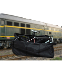 Bike Folding Thick Travel Bag Outdoor Riding Camping Folding Bicycle Storage Bag Bike Loading Bag Case Pouch Transport Storage