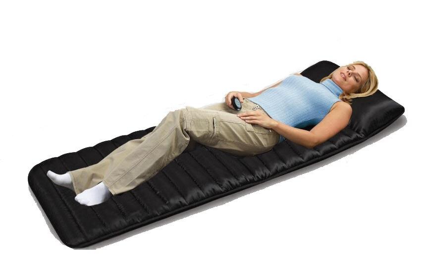 1 PC elektryczny masaż wibracyjny masaż podkład na materac 9 PC silnik wibracyjny i dalekiej podczerwieni ogrzewanie masażer poduszka do masażu w Masaż i relaks od Uroda i zdrowie na  Grupa 1