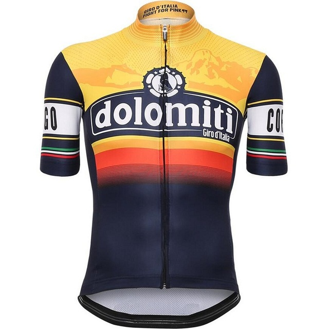 Tour De Italy D'ITALIA 2016 Cycling Jersey short sleeve cycling shirt Bike bicycle clothes Clothing Ropa Ciclismo Breathable