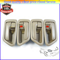 Inside Interior Door Handle Front Rear Left Right  69205AA010 69206AA010 For 1997-2001 Toyota Camry (DHTO207LRx2)