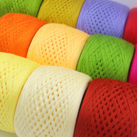 250G PC Baby Cotton Yarns For Knitting Eco Friendly Dyed Thin Crochet Yarn High Grade Milk