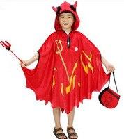 red devil cosplay for children red devil cape halloween cape for children halloween clock for kids