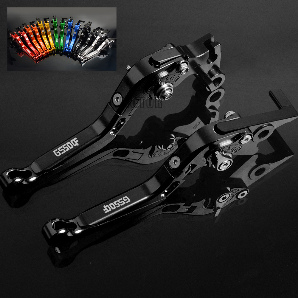 Motorcycle Brake Clutch Levers CNC Adjustable Folding Brake Clutch Levers For SUZUKI GS 500 F GS 500F GS500 F GS500F 2004-2009 brand new blue color motorcycle accessories cnc aluminum brake clutch levers for suzuki gsxr750 06 10 have 5 colors optional