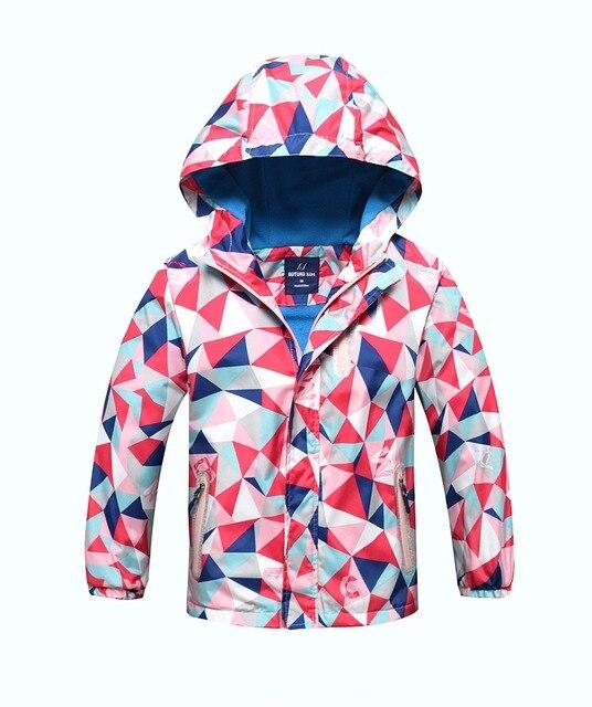 edcdadb13 Waterproof Index 5000mm Child Coat Windproof Sporty Boys Girls ...