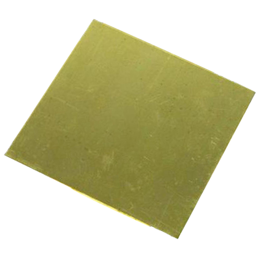 1pc H62 Brass Metal Copper Sheet Plate 1.5mm Thickness 100mmx100mm For DIY Crafts 1sheet matte surface 3k 100% carbon fiber plate sheet 2mm thickness