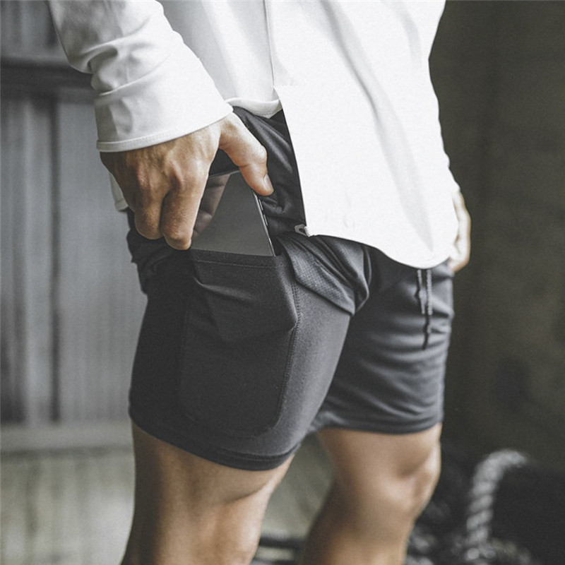 Casual Gyms Shorts Men Summer Cotton Fitness Bodybuilding Shorts Homme Comfortable Gyms Short Pants Knee Length Boardshorts