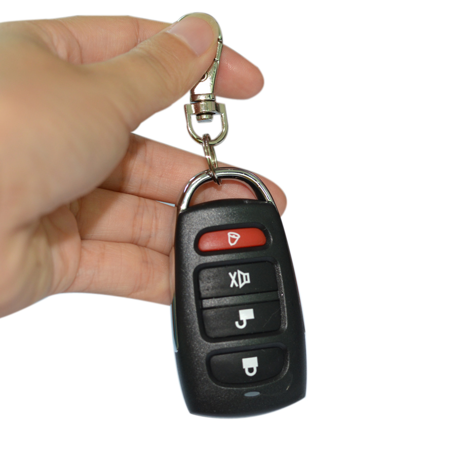 Universal 4 Button Clone Cloning Copy 433mhz Electric Garage Door Remote Control Duplicator Fixed Learning Code Key Fob EV1527 cloning