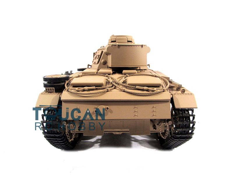 100% Metal Mato 1/16 Panzer III RC Tank KIT Infrared Barrel Recoil Yellow 1223 mato sherman tracks 1 16 1 16 t74 metal tracks