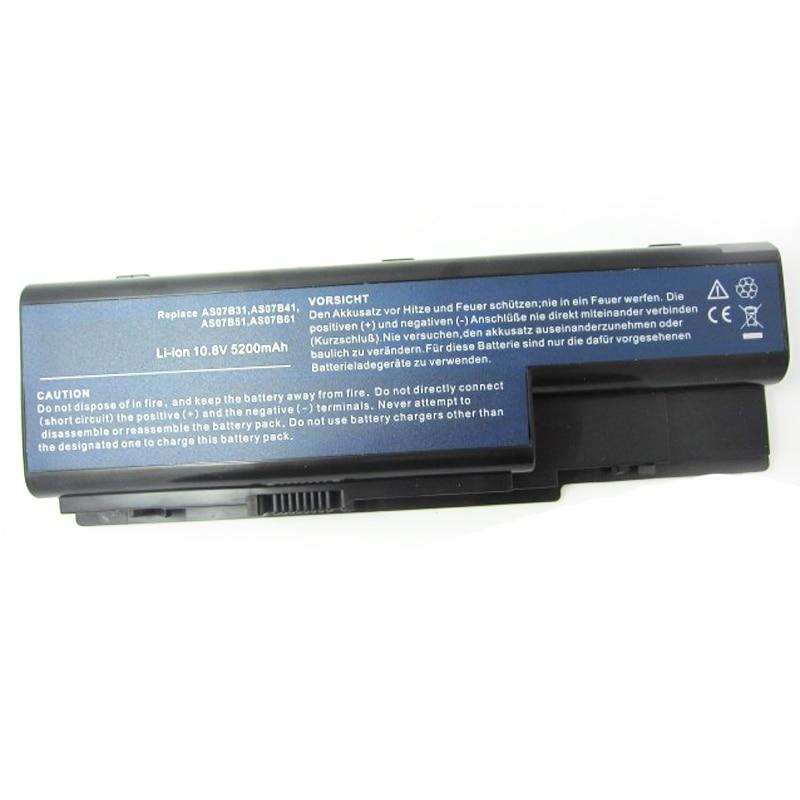 HSW 6-komorowy akumulator AS07B31 AS07B41 AS07B51 AS07B61 AS07B71 - Akcesoria do laptopów - Zdjęcie 2