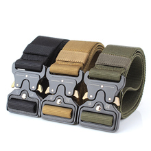 Lixada Nylon Tactical Waist Belt Hunting Accessories Heavy Duty with Metal Buckle Training Carry