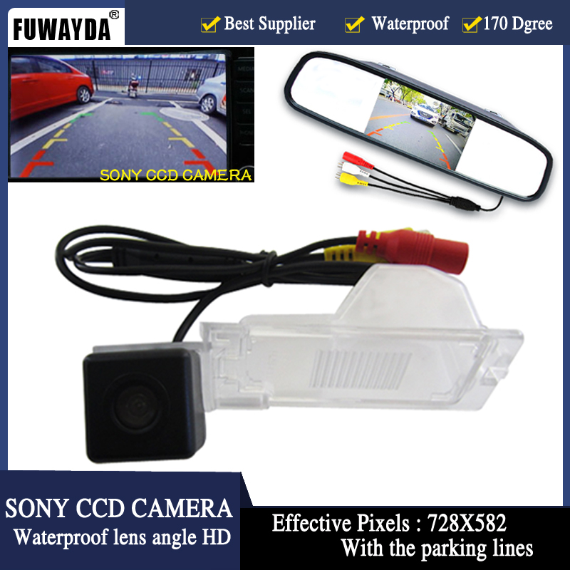 FUWAYDA Parking automatique CCD HD 4.3