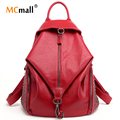 women backpacks leather backpacks for teenage girls travel women bags rivet backpacks student school bag 2017 BD-144