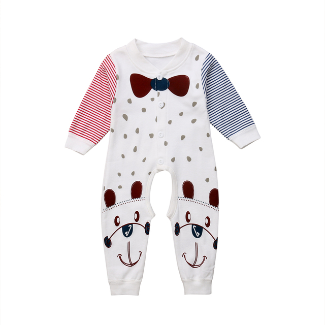 98d37d961 Emmababy Fashion Newborn Baby Boy Girl Soft Cotton Long Sleeve Cute ...