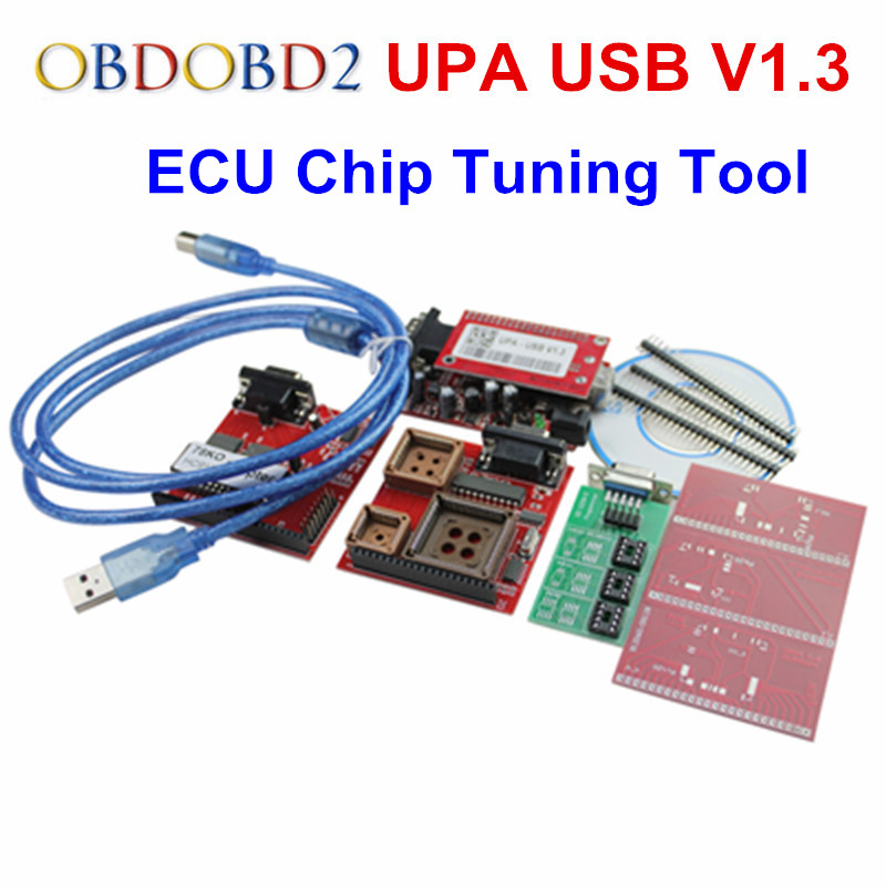 New Arrivlal UPA USB Programmer V1.3 UPA USB Full Adapters UPA Chip Tuning Tools ECU Programmer Serial Programmer promotion price for new upa usb