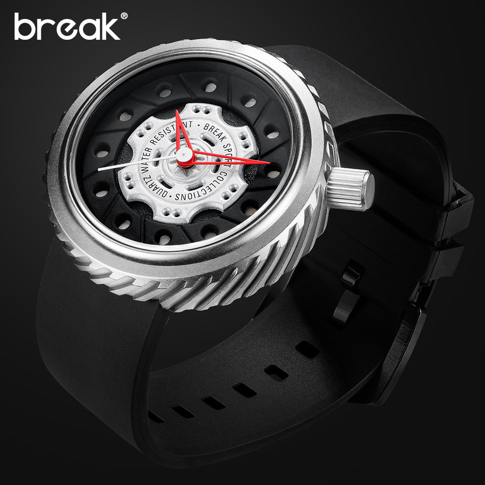 BREAK-Top-Luxury-Men-Racing-Motorcyle-Sport-Watches-Rubber-Strap-Casual-Fashion-Passion-Waterproof-Geek-Creative