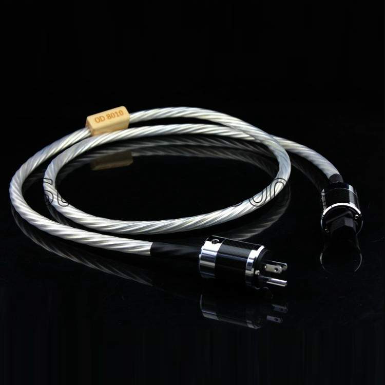 Free shipping Nordost Odin Supreme Reference Power Cable Cord 1.8m US Plug EU Plug DHL shipping цена и фото