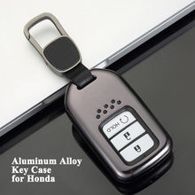 1pc Car Key Case Cover Styling Shell Storage Bag Protector Accessories for Honda Accord CR-V CIVIC Insight HR-V Odyssey