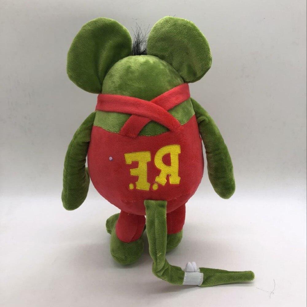 Anime Cartoon Tales of The RAT FINK Plush Toy GREEN ED BIG DADDY PLUSH RF Soft