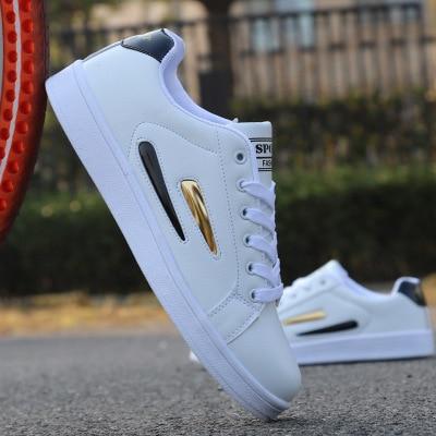 2018 nowy styl wiosna lato mężczyźni buty casual moda wodoodporny światło białe buty męskie buty sneakers mężczyzn