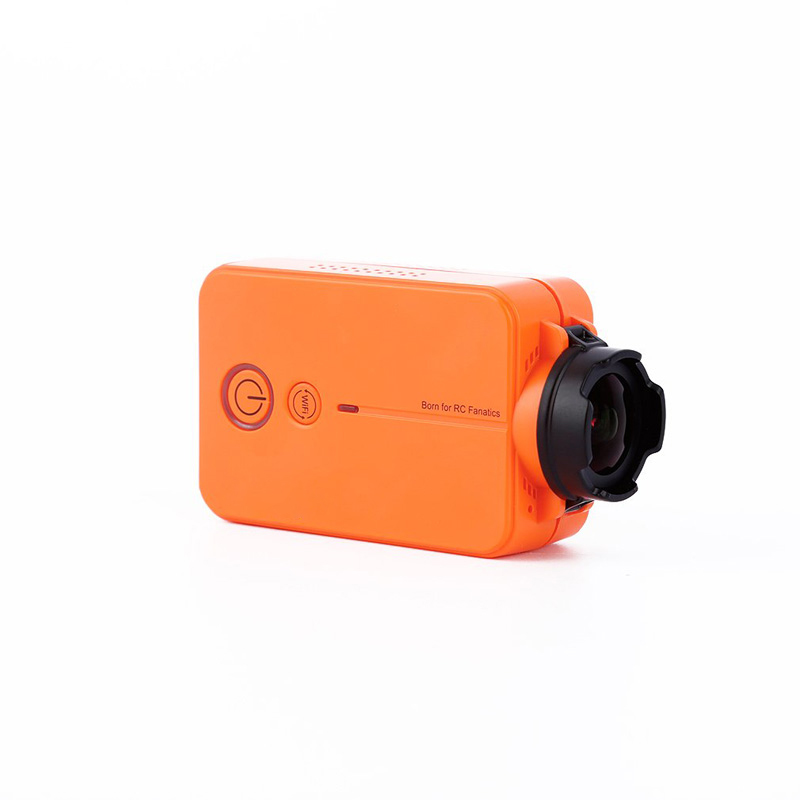 HD 1080P Camera Light Weight Wear-proof Durable Orange For RC Drone FPV Quadcopter YH-17HD 1080P Camera Light Weight Wear-proof Durable Orange For RC Drone FPV Quadcopter YH-17