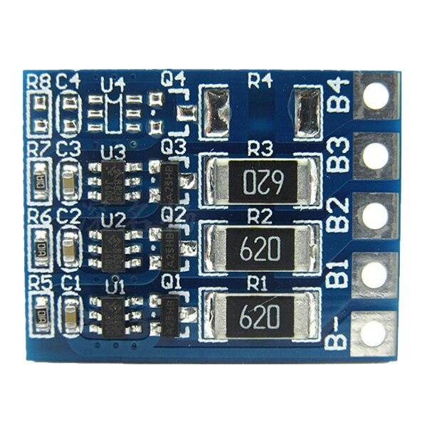 4,2 В 66mA Батарея Balanced зарядки эквалайзер печатной платы для 3 s 11,1 В 12,6 В 18650 литий-ионный Lipo Батарея Pack