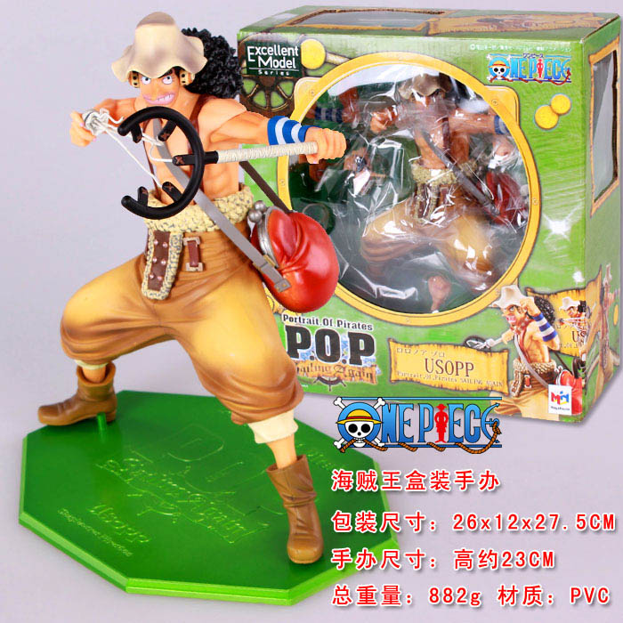 Anime One Piece POP Usopp PVC Action Figure Collectible Model Toy 20cm anime catoon one piece pop 15th anniversary dressrosa rebecca pvc action figure collectible model toy 9cm kt381
